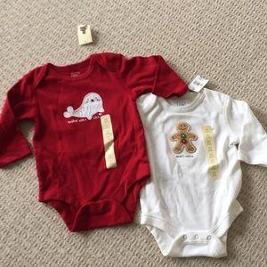 NWT Baby Gap onesies
